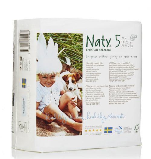 Scutece ecologice bio de unica folosinta Naty marimea 5