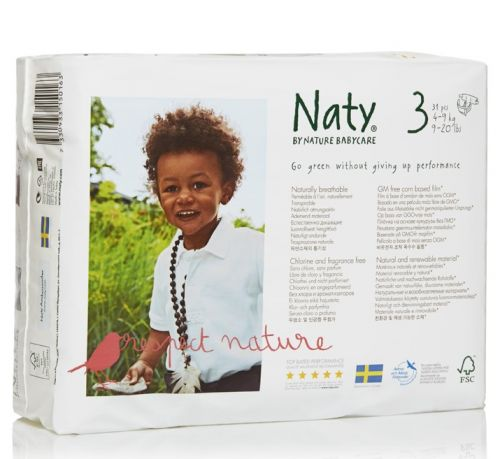 Scutece ecologice bio Naty marimea 3