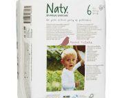 Scutece ecologice bio de unica folosinta Naty marimea 6