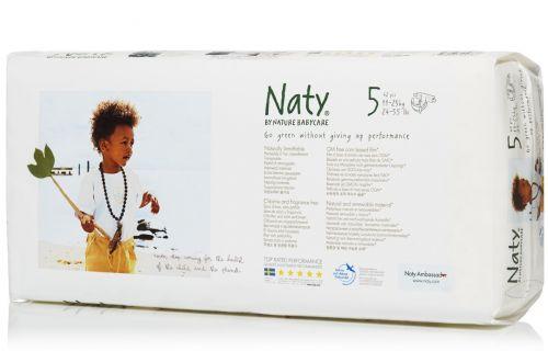 Scutece ecologice bio de unica folosinta Naty marimea 5 pachet economy